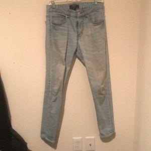 Skinny Light Blue Jeans